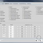 Mitarbeiterstamm-Arbeitszeiten DENTALplus - Software-Programm für Zahntechniker